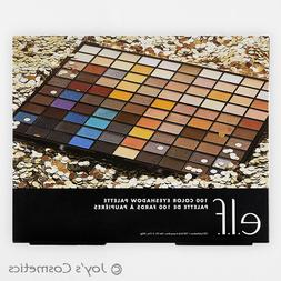 "1 ELF 100 Color Eyeshadow Palette - 100% Vegan ""B74585-1"" *J"