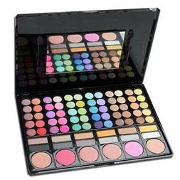 1 professional 78 colours eyeshadow palette makeup