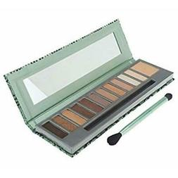 Mally Beauty 11 Piece Eye Shadow Palette w/ Eye Base and Bru