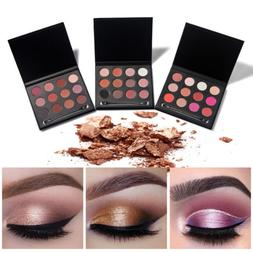 MagiDeal 12 Color Shimmer Matte Eyeshadow Palette Eye Shadow