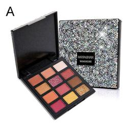 12 Colors Eyeshadow Palette Ultra Pigmented Pigment Mineral