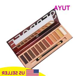 12 Colors High Pigment SEPROFE Eyeshadow Palette Cosmetics M