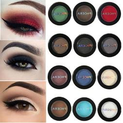 12 Colors Matte Eye Shadow Powder Pigment Nude Long Lasting