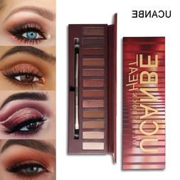 12 colors molten rock heat eye shadow