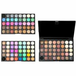 120 Colors Pro Shimmer Matte Eyeshadow Palette Powder Eye Sh