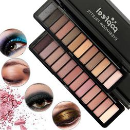 12Colors Eyeshadow Palette Beauty Makeup Shimmer Cream Matte