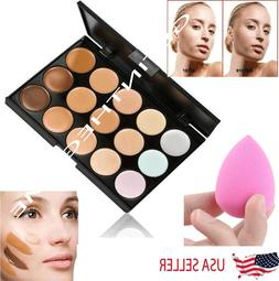 15 Colors Contour Concealer Face Cream Makeup Palette Profes