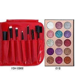 15 Colors Eyeshadow Palette Ultra Pigmented Mineral Pressed