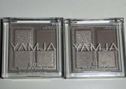 """2 Set Almay Eye Shadow Palette Quad #130 """"The World Is My"""