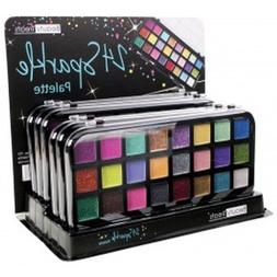 Beauty Treats 24 Sparkle Palette Cream Glitter Eye Shadow Pa
