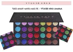 35 color eye shadow palette highly pigmented