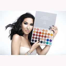 35 colors eyeshadow palette beauty make up