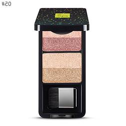4 Color Eyeshadow Pan Golden Onion Powder, Pearl Luster Subg
