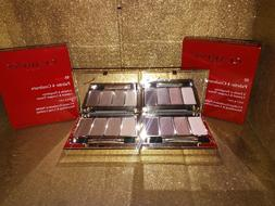 Clarins 4 Color Eyeshadow Palette BNIB
