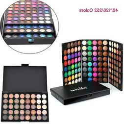 40/120/252 Colors Professional Makeup Eyeshadow Palette Shim