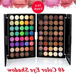 40 Color Eyeshadow Cream Eye Shadow Makeup Cosmetic Matte Pa
