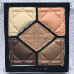 Dior 5 Coulers Eyeshadow Palette 647 Undress Fall 2017 New F