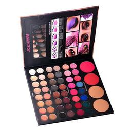 MagiDeal 52 Color Cosmetic Matte Eyeshadow Powder Eye Shadow