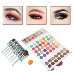 Beauty Glazed 63 Pop Colors Eyeshadow Palettes Matte and Shi