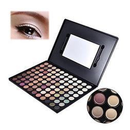 QINF Pro 88 Warm Color Fashion Eye Shadow Palette Profession