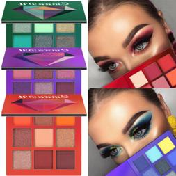 9 Colors Eyeshadow Palette Beauty Makeup Shimmer Matte Gift