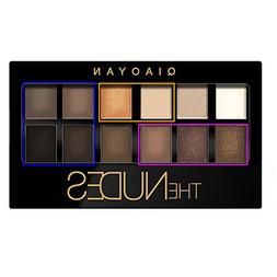 Gracefulvara 12 Colors Concealer Nude Eye Shadow Palette Kit