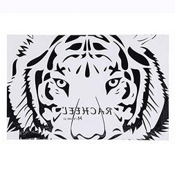 Ochine Magnetic Palette Makeup Pad Tiger Grain Fashion Black