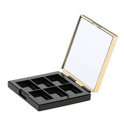 MagiDeal ABS Empty Palette Box DIY Eyeshadow Powder Blush Ma