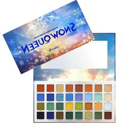 Snow Queen Eyeshadow Palette 32 Highly Pigmented Colors Fro