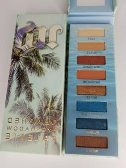 Authentic Urban Decay Beached Eyeshadow Palette Natural Brow