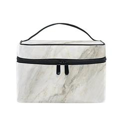 Makeup Bag Vintage Marble Travel Cosmetic Bags Organizer Tra