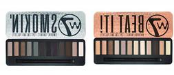 W7 Beat It Natural Nudes & Smokin' Shades Eyeshadow Palette