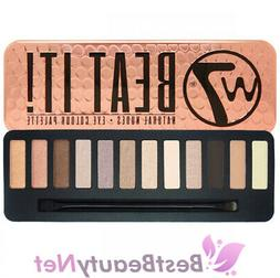 W7 Beat It! Natural Nudes Eye Colour Palette 0.55oz / 15.6g