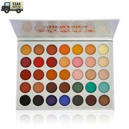 Beauty Glazed Eyeshadow Palette Pigmented Colors Makeup Pall