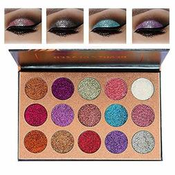 Beauty Glazed Eyeshadow Palette Ultra Pigmented Mineral Pres