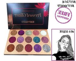 beauty glazed pressed glitter ultra pigmented eyeshadow
