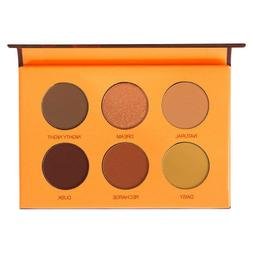 COLOURED RAINE | Beauty Rust Eyeshadow Mini Warm Toned 6 Pan
