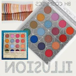 BH COSMETICS Illusion 16 Color Eyeshadow Palette AUTHENTIC