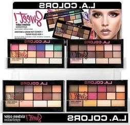Brand New L.A. COLORS Sweet ! 16 Color Eyeshadow - 4 colors