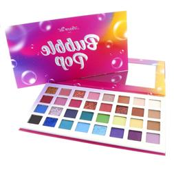 Amor Us Bubble Pop Eyeshadow & Glitter Palette 32 Color Beau