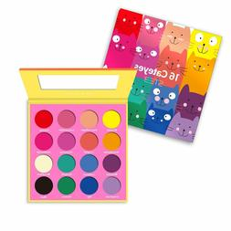 Cateyes 16 Color Bright Color Matte Eyeshadow Palette
