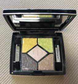 christian 5 couleurs glowing gardens eyeshadow palette