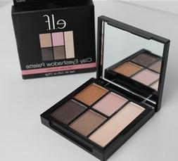 ELF Clay 5 Eyeshadow Palette Saturday Sunsets with Mirror Pi