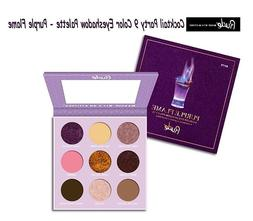 cocktail party 9 color eyeshadow palette purple