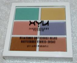 NYX Color Correcting Concealer Palette ~ 3CP04 Factory Seale