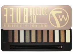 W7 COLOUR ME BUFF IN THE BUFF NATURAL NUDES EYE COLOUR PALET