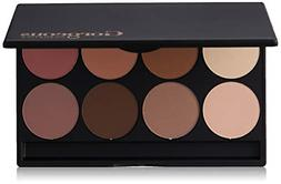 Gorgeous Cosmetics Contour Palette, 8 shades, Compact with M