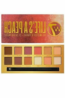 W7 Cosmetics Eye Colour Palette Set of 12 EyeShadows 9.6g Li