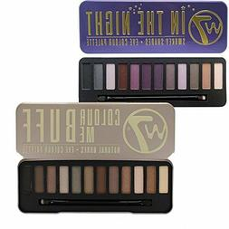 W7 Cosmetics Eye Shadow Pallette Set - In The Night & Colour