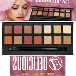 W7 Cosmetics Delicious Natural Nudes & Berry 14 Mix Eye Colo